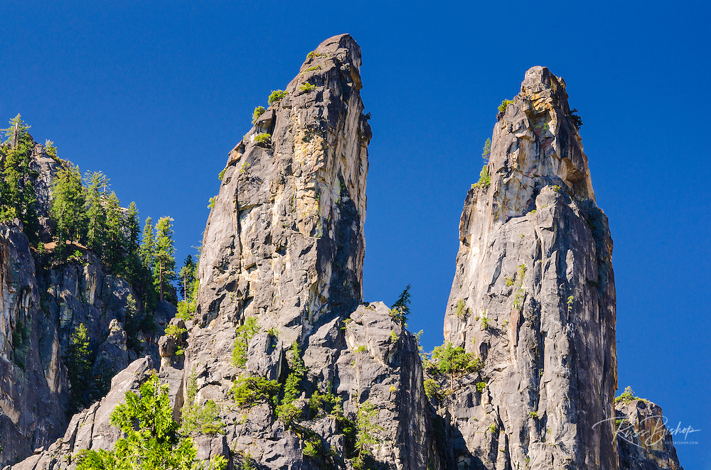 The Cathedral Spires, Yosemite National Park, California USA