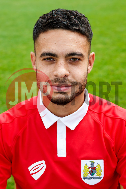 Derrick Williams poses for a head shot - Photo mandatory by-line: Rogan Thomson/JMP - 07966 386802 - 04/08/2014 - SPORT - FOOTBALL - BCFC Training Ground, Failand - Bristol City, 2014/15 Team Photos.
