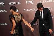 Golshifteh Farahani, Antonio Banderas attended 'Altamira' premiere at Callao Cinema on March 31, 2016 in Madrid