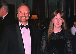 The RT.HON.ROBIN COOK MP  the Foreign Secretary and his fiance MS.GAYNOR REGAN, at a dinner in London on 6th January 1998.MEJ 30