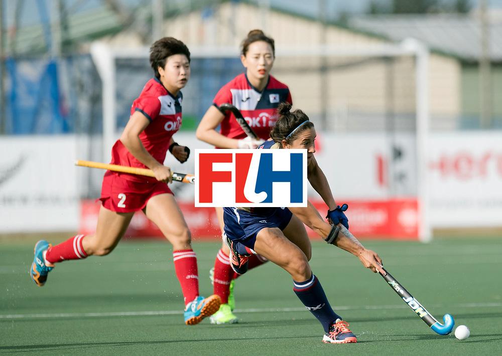 AUCKLAND - Sentinel Hockey World League final women<br /> Match id 10291<br /> USA v KOR (Pool A)<br /> Foto: <br /> WORLDSPORTPICS COPYRIGHT FRANK UIJLENBROEK