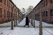 Piotr M. A. Cywiński who is a professional historian and Director of the Auschwitz-Birkenau State Museum at the Auschwitz Nazi concentration camp. It is estimated that between 1.1 and 1.5 million Jews, Poles, Roma and others were killed here during the Holocaust between 1940-1945. 27 January 2015 is the 70th anniversary of the liberation of Auschwitz-Birkenau.