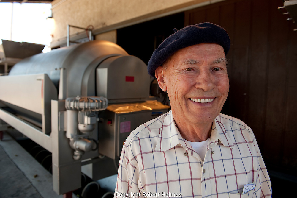 "Miljenko ""Mike"" Grgich, Grgich Hills Estate, Rutherford, Napa Valley, California"