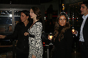 Karin Silverstein, Katherine Rainbird,  Lizzie Cantor , Drinks party to launch a new Thomas Pink shirt called The Mogul which has a pocket which houses one's cigar. Hostyed by the Spectator and Thomas Pink. Floridita. Wardour St. London. 1 November 2006. -DO NOT ARCHIVE-© Copyright Photograph by Dafydd Jones 66 Stockwell Park Rd. London SW9 0DA Tel 020 7733 0108 www.dafjones.com
