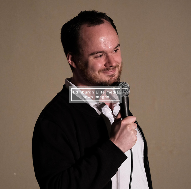 Coachload of Comedy, Thursday 1st June 2017<br /> <br /> Comedians take the stage at the 'Coachload of `Comedy' event in Wilmslow, Cheshire<br /> <br /> (c) Alex Todd   Edinburgh Elite media