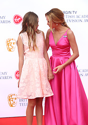 Amanda Holden and daughter Alexa attending the Virgin TV British Academy Television Awards 2018 held at the Royal Festival Hall, Southbank Centre, London.