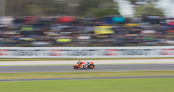 October 23, 2016 - Melbourne, Victoria, Australia - Spanish rider Marc Marquez (#93) of Repsol Honda Team in action during the MotoGP category race at the 2016 Australian MotoGP held at Phillip Island, Australia. (Credit Image: © Theo Karanikos via ZUMA Wire)