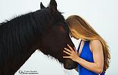Model & Horse