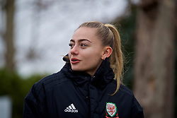 BOLOGNA, ITALY - Tuesday, January 22, 2019: Wales' Charlie Estcourt during a pre-match walk at the team hotel in Bologna ahead of the International Friendly game against Italy. (Pic by David Rawcliffe/Propaganda)