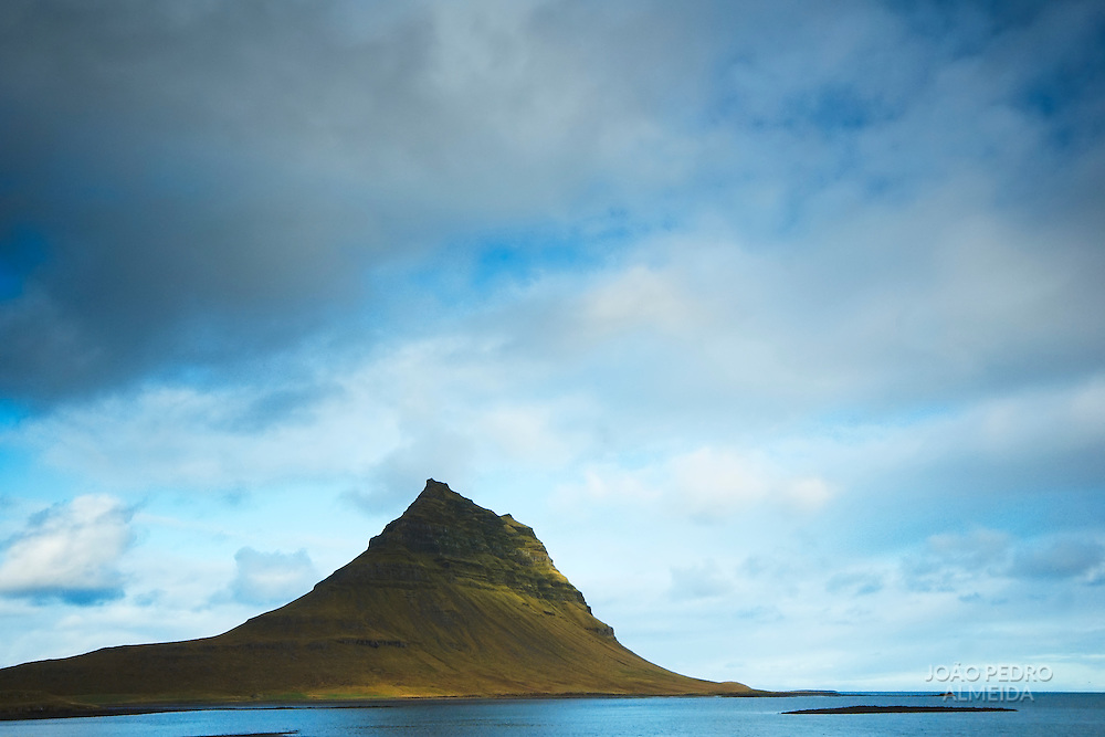 Iconic mountain in Iceland
