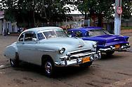 Cars in Artemisa, Cuba.