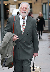 Dave Lee Travis arriving at Southwark Crown Court in  London, Friday, 7th February 2014. Picture by Stephen Lock / i-Images