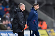 Swansea City manager Steve Cooper during the EFL Sky Bet Championship match between Swansea City and Middlesbrough at the Liberty Stadium, Swansea, Wales on 14 December 2019.