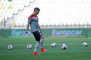 Poland's Lukasz Piszczek while official training one day before international friendly match between Poland and Lithuania at PGE Arena in Gdansk, Poland.<br /> <br /> Poland, Gdansk, June 05, 2014<br /> <br /> Picture also available in RAW (NEF) or TIFF format on special request.<br /> <br /> For editorial use only. Any commercial or promotional use requires permission.<br /> <br /> Mandatory credit:<br /> Photo by © Adam Nurkiewicz / Mediasport