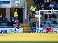 20th January 2018, Dens Park, Dundee, Scotland; Scottish Cup fourth round, Dundee versus Inverness Caledonian Thistle; Inverness Caledonian Thistle's Aaron Doran celebrates after scoring for 1-0