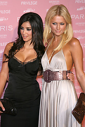 August 19, 2006 - West Hollywood, California, U.S. - 18 August 2006 - West Hollywood, California - Kim Kardashian and Paris Hilton.  Paris Hilton's CD Release Party - Arrivals held at Privilege.  Photo Credit: Zach Lipp/AdMedia (Credit Image: © Zach Lipp/AdMedia via ZUMA Wire)