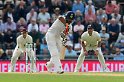 (Caption Corection) Rishabh Pant of India batting during day two of the fourth SpecSavers International Test Match 2018 match between England and India at the Ageas Bowl, Southampton, United Kingdom on 31 August 2018.