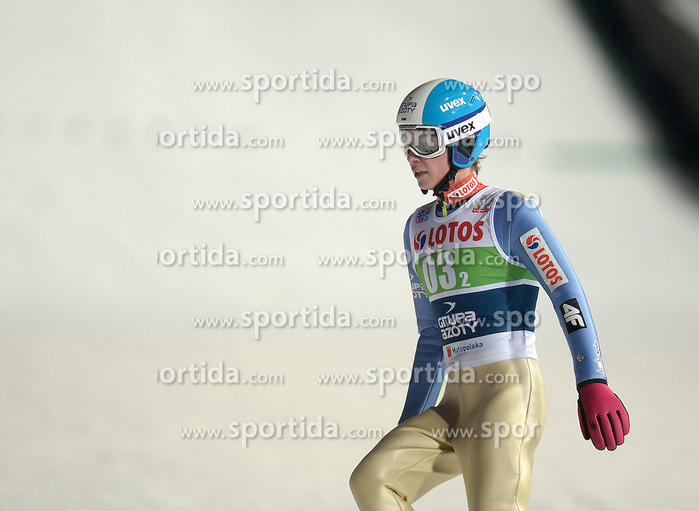 17.01.2015, Wielka Krokiew, Zakopane, POL, FIS Weltcup Ski Sprung, Zakopane, Herren, Teamspringen, im Bild Aleksander Zniszczol // during mens Large Hill Team competition of FIS Ski Jumping world cup at the Wielka Krokiew in Zakopane, Poland on 2015/01/17. EXPA Pictures &copy; 2015, PhotoCredit: EXPA/ Newspix/ Irek Dorozanski<br /> <br /> *****ATTENTION - for AUT, SLO, CRO, SRB, BIH, MAZ, TUR, SUI, SWE only*****