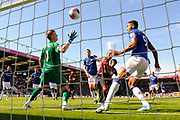 Goal - Jordan Pickford (1) of Everton is beaten by a shot from Callum Wilson (13) of AFC Bournemouth who scores a goal to give a 1-0 lead to the home team during the Premier League match between Bournemouth and Everton at the Vitality Stadium, Bournemouth, England on 15 September 2019.