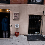 55 bar in New york entrance