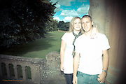 Annette & Alistair pre-wedding photographs at the Rufford Abbey Country Park.