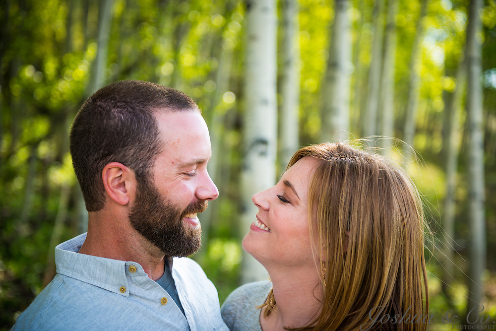 Jeff and Katie's engagement session in Snowmass Village and Aspen, Colorado, on May 12, 2012...Joshua Lawton // Joshua & Co. Photography ..www.joshuacophotography.com