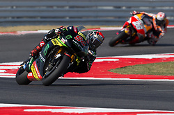 September 8, 2017 - Misano Adriatico, RN, Italy - Jonas Folgar of Monster Yamaha Tech 3 during the Free Practice 1 of the Tribul Mastercard Grand Prix of San Marino and Riviera di Rimini, at Misano World Circuit ''Marco Simoncelli'', on September 08, 2017 in Misano Adriatico, Italy  (Credit Image: © Danilo Di Giovanni/NurPhoto via ZUMA Press)