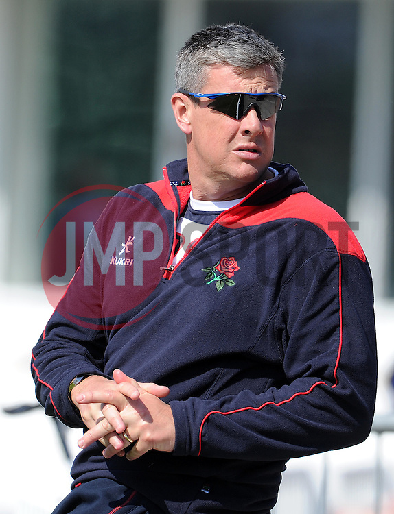 Lancashire's Head Coach Ashley Giles - Photo mandatory by-line: Harry Trump/JMP - Mobile: 07966 386802 - 07/04/15 - SPORT - CRICKET - Pre Season - Somerset v Lancashire - Day 1 - The County Ground, Taunton, England.