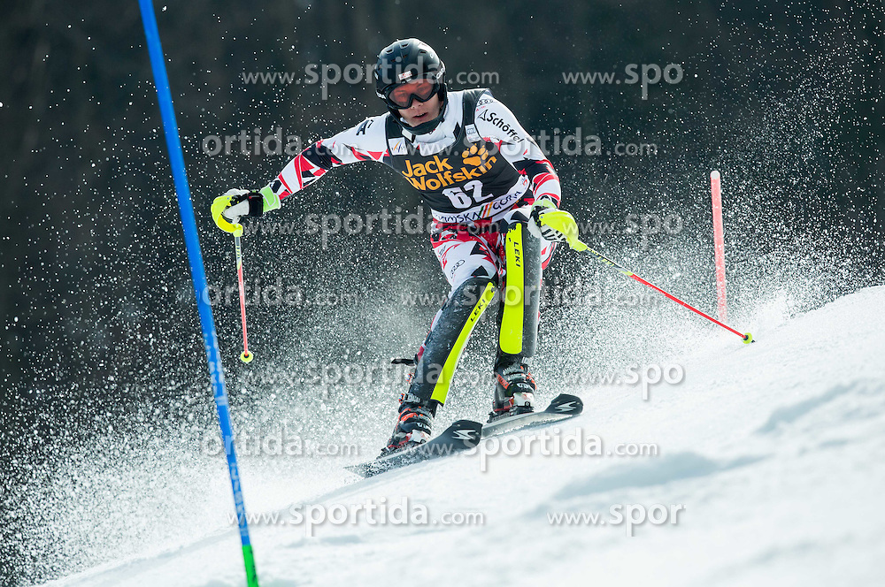 MATT Michael of Austria competes during 1st Run of Men Slalom race of FIS Alpine Ski World Cup 54th Vitranc Cup 2015, on March 15, 2015 in Kranjska Gora, Slovenia. Photo by Vid Ponikvar / Sportida