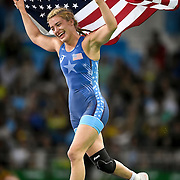 Helen Maroulis gave the United States its first Olympic gold in women's wrestling in dramatic fashion, defeating three-time Olympic champion Saori Yoshida of Japan Thursday evening at Carioca Arena 2 during the 2016 Summer Olympics Games in Rio de Janeiro, Brazil.