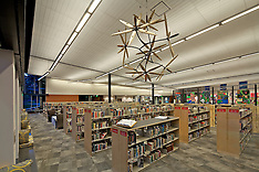 Carbondale Library Interior