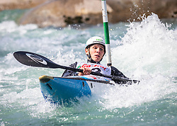 Kancler Tine (Soske elektrarne / Slovena) during ICF Canoe Slalom Ranking Race Tacen 2018, on April 8, 2018 in Ljubljana, Slovenia. Photo by Urban Meglic / Sportida