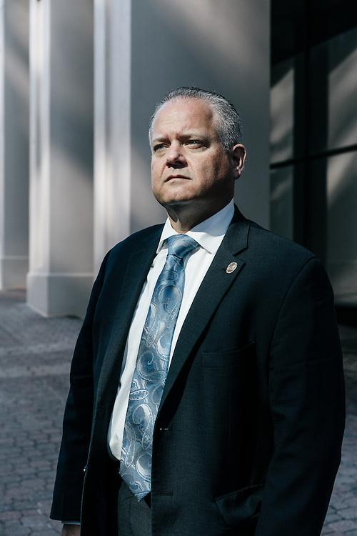 Frederick Harran, director of public safety in Bensalem Township, Pennsylvania in Washington D.C. on Sept. 8, 2016.