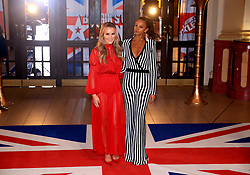 Amanda Holden (left) and Alesha Dixon attending the Britain's Got Talent Photocall at the Opera House, Church Street, Blackpool.