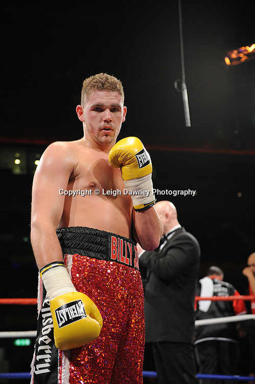 "Billy Joe Saunders (pictured) defeats Tony Randell at the Echo Arena, Lverpool,11th December 2010,Frank Warren.tv Promotions ""Return Of The Magnificent Seven"" © Photo Leigh Dawney"
