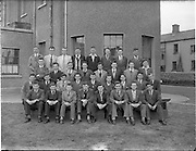 12/06/1957.06/12/1957.12 June 1957.Senior class at James Street C.B.S., Dublin. Special for Brother O'Mahoney.