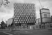 Development in Vauxhall near the new U.S. Embassy, Nine Elms, London. 3anuary 2018