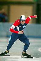 Skøyter, 2-3. november 2002. Norgescup med verdenscup-uttak. Vikingskipet-Hamar. Petter Andersen, Norge.