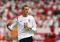 Photo: Chris Ratcliffe.<br /> <br /> England v Trinidad & Tobago. Group B, FIFA World Cup 2006. 15/06/2006.<br /> <br /> Peter Crouch of England.