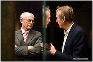 Farewell party for former EU President Herman Van Rompuy at Bozar, Brussels. November 11, 2014.
