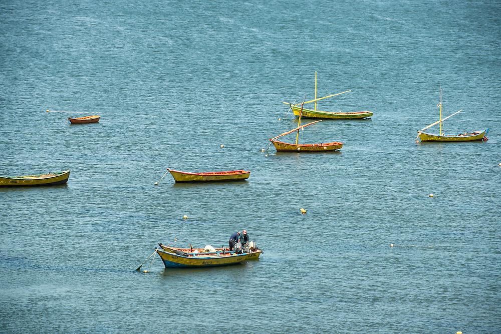 Fishing Boats, Chile