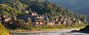 CHINA, Guizhou Province, Duliu River, Judong village This is west of Congjiang county of southeastern Guizhou province.