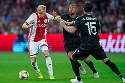 13-08-2019 NED: UEFA Champions League AFC Ajax - Paok Saloniki, Amsterdam<br />  Ajax won 3-2 and they will meet APOEL in the battle for a group stage spot / Donny van de Beek #6 of Ajax