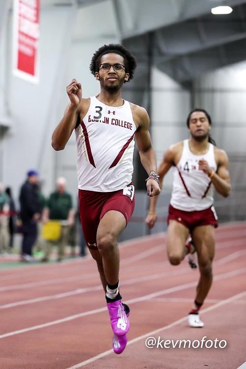 mens 400 meters, Boston College<br /> Multi-team Meet Indoor Track & Field