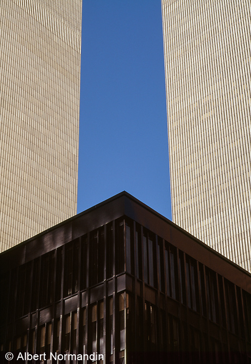 World Trade Center, Twin Towers, New York City, New York, USA