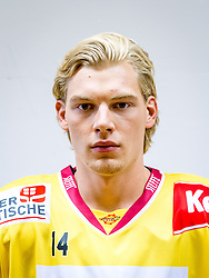 21.08.2013, Albert Schultz Halle, Wien, AUT, EBEL, Spielerportraits UPC Vienna Capitals, im Bild Patrick Peter , (UPC Vienna Capitals, #14)// during UPC Vienna Capitals Player Portrait Session at the Albert Schultz Halle, Wien, Austria on 2013/08/21. EXPA Pictures © 2013, PhotoCredit: EXPA/ Sebastian Pucher