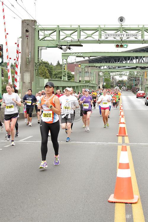 31st Annual Nordstrom Beat the Bridge, benefitting JDRF - 8K Race at the University Bridge.