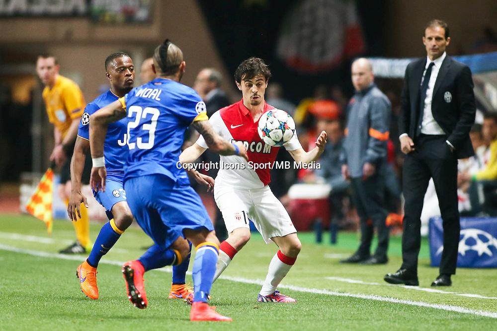 Bernardo SILVA  - 22.04.2015 - Monaco / Juventus Turin - 1/4Finale retour Champions League<br />Photo : Serge Haouzi / Icon Sport