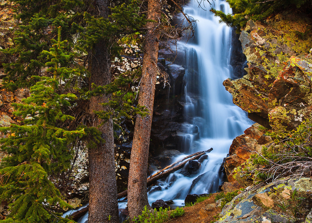 Williams Falls - DougScottArt.com |Waterfalls Near Taos New Mexico