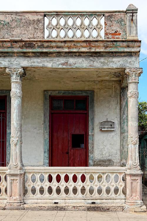 House in Santa Cruz del Norte, Mayabeque, Cuba.